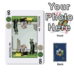 Decktet Español By Pixatintes   Playing Cards 54 Designs   B8h3t7caj6fh   Www Artscow Com Front - Spade5