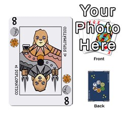 Decktet Español By Pixatintes   Playing Cards 54 Designs   B8h3t7caj6fh   Www Artscow Com Front - Diamond6
