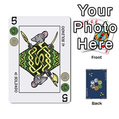Decktet Español By Pixatintes   Playing Cards 54 Designs   B8h3t7caj6fh   Www Artscow Com Front - Spade6