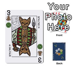 Decktet Español By Pixatintes   Playing Cards 54 Designs   B8h3t7caj6fh   Www Artscow Com Front - Spade7