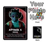 Star Wars Second Edition game - Playing Cards 54 Designs