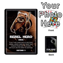 King Star Wars Second Edition Game By Pixatintes   Playing Cards 54 Designs   Y31v8eizx5o4   Www Artscow Com Front - HeartK