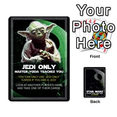 Ace Star Wars Second Edition Game By Pixatintes   Playing Cards 54 Designs   Y31v8eizx5o4   Www Artscow Com Front - ClubA