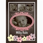 birth announcement - 5  x 7  Photo Cards