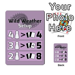 Wild Weather Card Game V2 By Craig Somerton   Multi Purpose Cards (rectangle)   Emf1jsbucg5m   Www Artscow Com Front 54