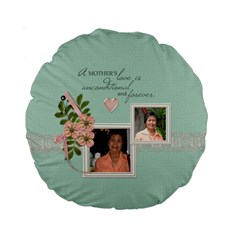 15  Premium Round Cushion : Mother By Jennyl   Standard 15  Premium Round Cushion    Ve2hbg6b1z7n   Www Artscow Com Back