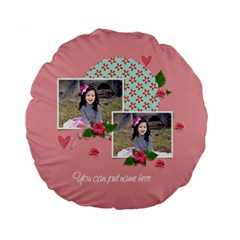 15  Premium Round Cushion : Sweet Lil By Jennyl   Standard 15  Premium Round Cushion    Ah241ot276ya   Www Artscow Com Back