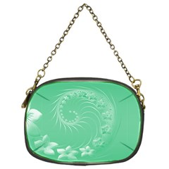 10   Light Green Flowers Chain Purse (one Side) by BestCustomGiftsForYou