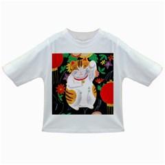 Maneki Neko Baby T Shirt by TabbyCatStudios