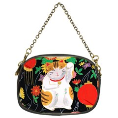 Maneki Neko Chain Purse (one Side) by TabbyCatStudios