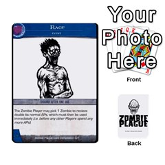 Zombie Plague Card Compilation By Michael   Playing Cards 54 Designs   7t5fpo73e6bd   Www Artscow Com Front - Spade2