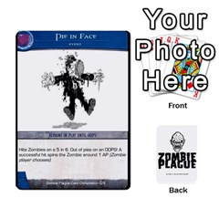 Zombie Plague Card Compilation By Michael   Playing Cards 54 Designs   7t5fpo73e6bd   Www Artscow Com Front - Spade3