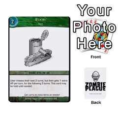 Zombie Plague Card Compilation By Michael   Playing Cards 54 Designs   7t5fpo73e6bd   Www Artscow Com Front - Heart3