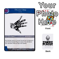 Zombie Plague Card Compilation By Michael   Playing Cards 54 Designs   7t5fpo73e6bd   Www Artscow Com Front - Heart4
