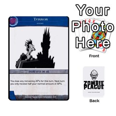 Zombie Plague Card Compilation By Michael   Playing Cards 54 Designs   7t5fpo73e6bd   Www Artscow Com Front - Heart7
