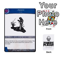 Jack Zombie Plague Card Compilation By Michael   Playing Cards 54 Designs   7t5fpo73e6bd   Www Artscow Com Front - HeartJ