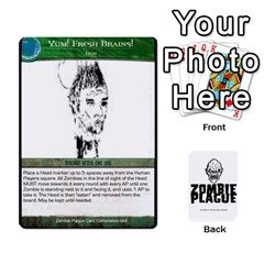King Zombie Plague Card Compilation By Michael   Playing Cards 54 Designs   7t5fpo73e6bd   Www Artscow Com Front - HeartK