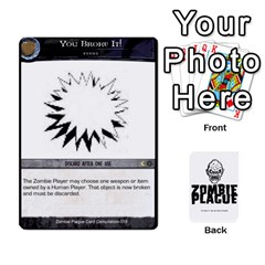 Ace Zombie Plague Card Compilation By Michael   Playing Cards 54 Designs   7t5fpo73e6bd   Www Artscow Com Front - HeartA