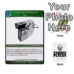Zombie Plague Card Compilation By Michael   Playing Cards 54 Designs   7t5fpo73e6bd   Www Artscow Com Front - Diamond2