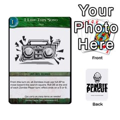 Zombie Plague Card Compilation By Michael   Playing Cards 54 Designs   7t5fpo73e6bd   Www Artscow Com Front - Spade5