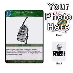 Zombie Plague Card Compilation By Michael   Playing Cards 54 Designs   7t5fpo73e6bd   Www Artscow Com Front - Diamond8