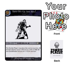 Zombie Plague Card Compilation By Michael   Playing Cards 54 Designs   7t5fpo73e6bd   Www Artscow Com Front - Diamond10