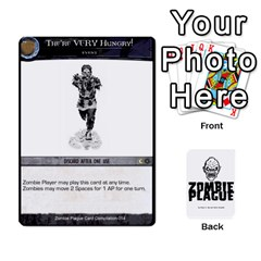 Queen Zombie Plague Card Compilation By Michael   Playing Cards 54 Designs   7t5fpo73e6bd   Www Artscow Com Front - DiamondQ