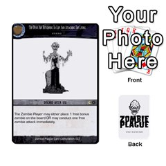 Ace Zombie Plague Card Compilation By Michael   Playing Cards 54 Designs   7t5fpo73e6bd   Www Artscow Com Front - DiamondA