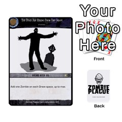Zombie Plague Card Compilation By Michael   Playing Cards 54 Designs   7t5fpo73e6bd   Www Artscow Com Front - Club2