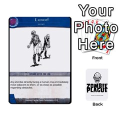 Zombie Plague Card Compilation By Michael   Playing Cards 54 Designs   7t5fpo73e6bd   Www Artscow Com Front - Spade6