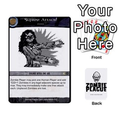 Zombie Plague Card Compilation By Michael   Playing Cards 54 Designs   7t5fpo73e6bd   Www Artscow Com Front - Club3