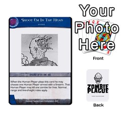 Zombie Plague Card Compilation By Michael   Playing Cards 54 Designs   7t5fpo73e6bd   Www Artscow Com Front - Club7