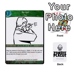 Zombie Plague Card Compilation By Michael   Playing Cards 54 Designs   7t5fpo73e6bd   Www Artscow Com Front - Club9