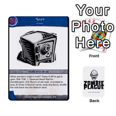 Jack Zombie Plague Card Compilation By Michael   Playing Cards 54 Designs   7t5fpo73e6bd   Www Artscow Com Front - ClubJ