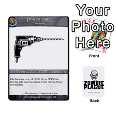 Ace Zombie Plague Card Compilation By Michael   Playing Cards 54 Designs   7t5fpo73e6bd   Www Artscow Com Front - ClubA