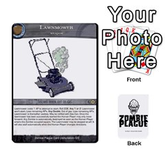 Zombie Plague New Cards By Michael   Playing Cards 54 Designs   Qhje0c0i04pl   Www Artscow Com Front - Heart2