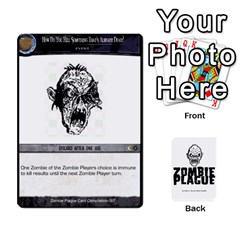 Zombie Plague New Cards By Michael   Playing Cards 54 Designs   Qhje0c0i04pl   Www Artscow Com Front - Heart8