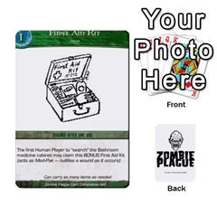 Zombie Plague New Cards By Michael   Playing Cards 54 Designs   Qhje0c0i04pl   Www Artscow Com Front - Diamond5