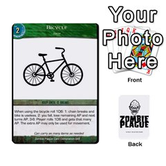 Zombie Plague New Cards By Michael   Playing Cards 54 Designs   Qhje0c0i04pl   Www Artscow Com Front - Diamond9