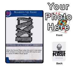 Zombie Plague New Cards By Michael   Playing Cards 54 Designs   Qhje0c0i04pl   Www Artscow Com Front - Diamond10