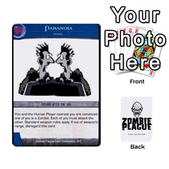 Zombie Plague New Cards By Michael   Playing Cards 54 Designs   Qhje0c0i04pl   Www Artscow Com Front - Spade7