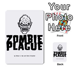 Zombie Plague New Cards By Michael   Playing Cards 54 Designs   Qhje0c0i04pl   Www Artscow Com Back