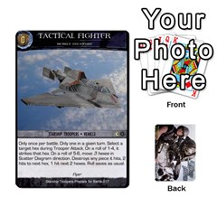 Starship Troopers Prepare For Battle Deck By Michael   Playing Cards 54 Designs   Z252jm23jd2m   Www Artscow Com Front - Heart8