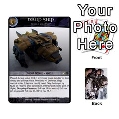 Starship Troopers Prepare For Battle Deck By Michael   Playing Cards 54 Designs   Z252jm23jd2m   Www Artscow Com Front - Diamond9