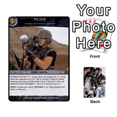 Starship Troopers Prepare For Battle Deck By Michael   Playing Cards 54 Designs   Z252jm23jd2m   Www Artscow Com Front - Club6