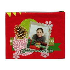 Merry Christmas By Merry Christmas   Cosmetic Bag (xl)   Jhezphvnclqh   Www Artscow Com Back