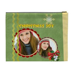 Merry Christmas By Merry Christmas   Cosmetic Bag (xl)   37z4hp2kf4nz   Www Artscow Com Back