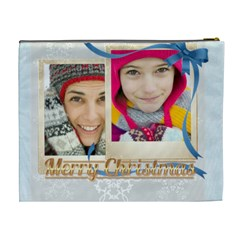 Merry Christmas By Merry Christmas   Cosmetic Bag (xl)   P2g8dmjnb7ha   Www Artscow Com Back