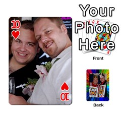 A By Alex Jensen   Playing Cards 54 Designs   Rt0w5e33tfq7   Www Artscow Com Front - Heart10