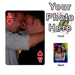 Ace A By Alex Jensen   Playing Cards 54 Designs   Rt0w5e33tfq7   Www Artscow Com Front - HeartA